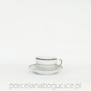 New Hollis Platin Filiżanka/spodek 200 ml./15 cm.(0883)