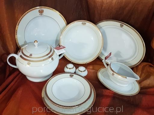 1d2430f60d05c Domenico z Orłem Serwis obiadowy 6/26 (Z241) - Porcelana Bogucice ...